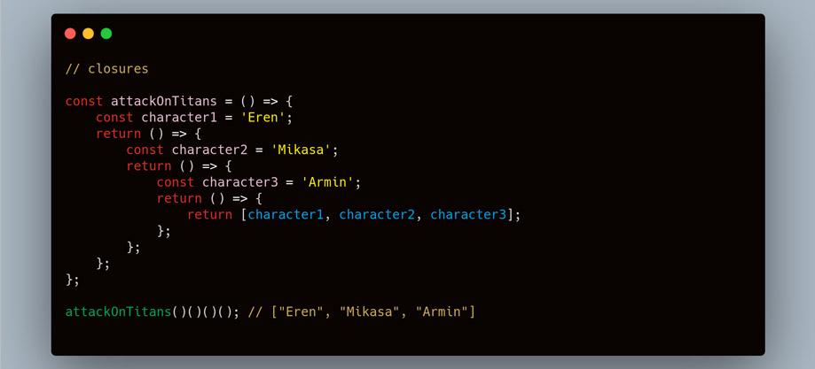 closures js